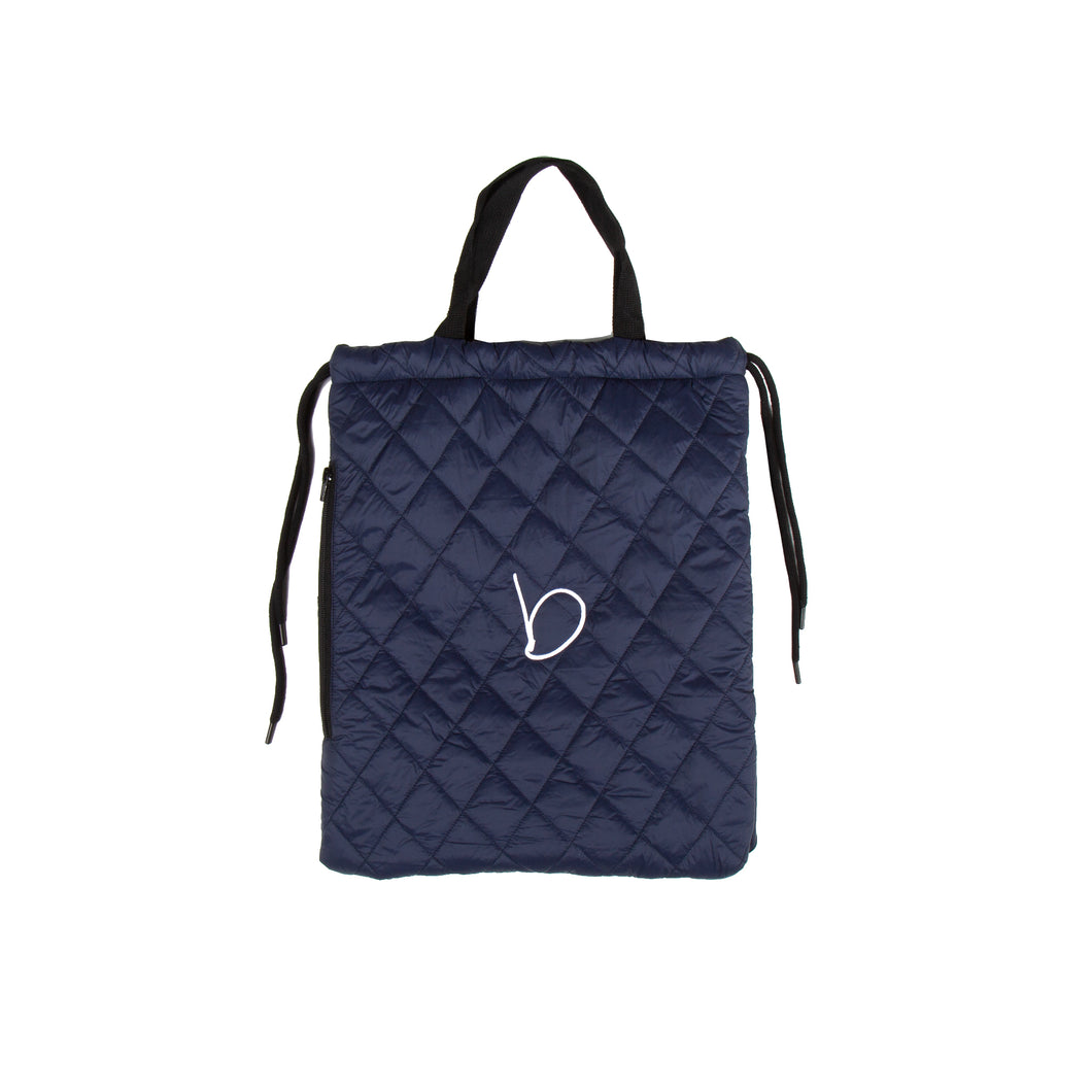 Quilted Bag - Navy
