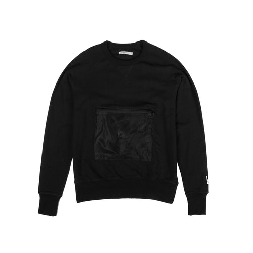 Cassidy Packable Sweat - Black