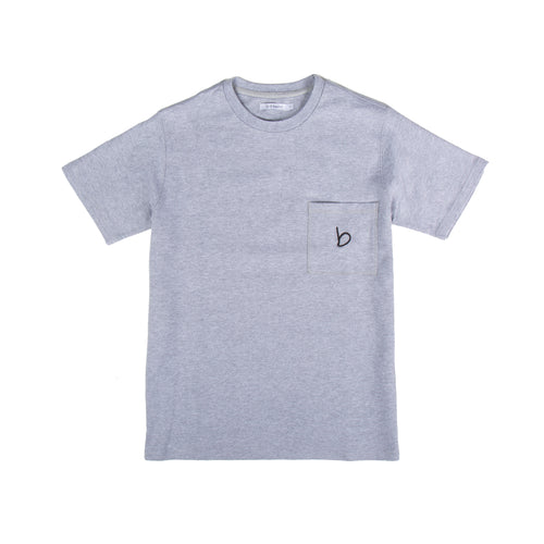 Foulkes Pocket T-shirt - Grey Marl