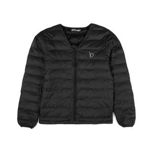 V-Neck Zip jacket - Black