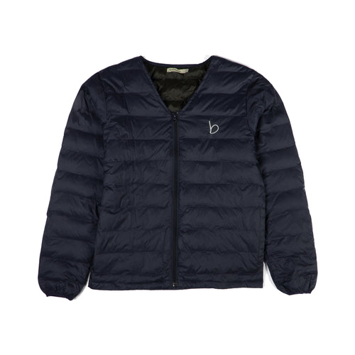 V-Neck Zip jacket - Navy