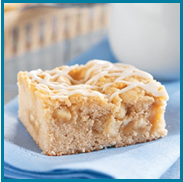 White Chip And Macadamia Nut Coffee Cake
