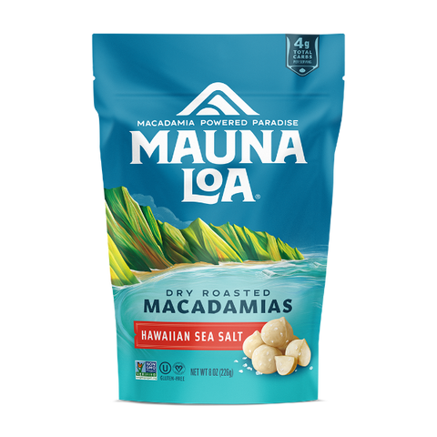 Flavored Macadamias - Hawaiian Sea Salt Medium Bag