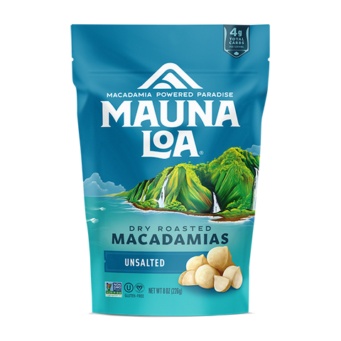 Flavored Macadamias - Unsalted Medium Bag