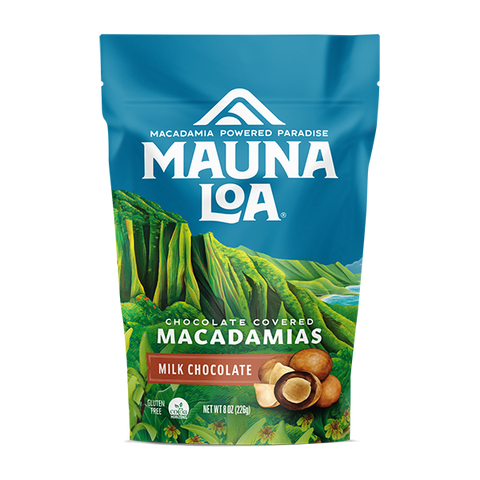Chocolate Covered Macadamias - Milk Chocolate Medium Bag