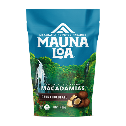 Chocolate Covered Macadamias - Dark Chocolate Medium Bag