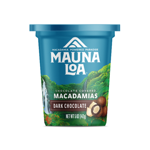 Chocolate Covered Macadamias - Dark Chocolate Cup