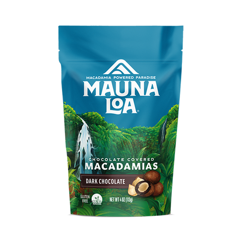 Chocolate Covered Macadamias - Dark Chocolate Small Bag