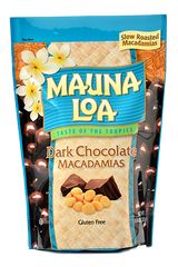 Chocolate Covered Macadamias - Dark Chocolate Bag