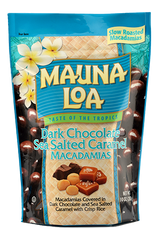 Chocolate Covered Macadamias - Dark Chocolate & Sea Salt Caramel Bag
