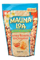 Flavored Macadamias - Honey Roasted Bag