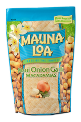 Flavored Macadamias - Maui Onion & Garlic Bag