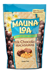 Chocolate Covered Macadamias - Milk Chocolate Bag