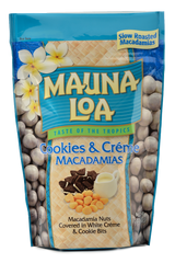 Chocolate Covered Macadamias - Cookies 'N Creme Bag