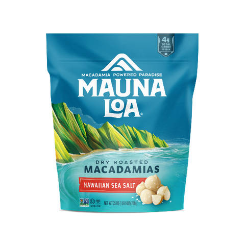 Flavored Macadamias - Hawaiian Sea Salt Large Bag
