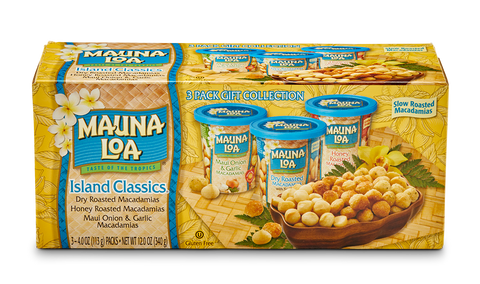 Flavored Macadamias - Island Classic Cups