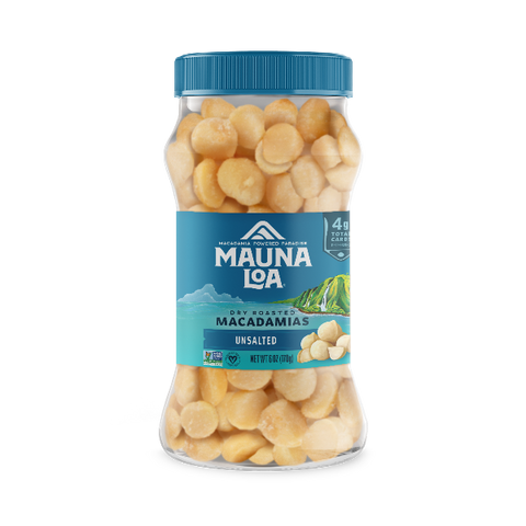Flavored Macadamias - Unsalted Jar