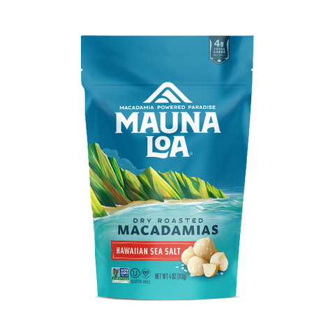 Flavored Macadamias - Hawaiian Sea Salt Bag
