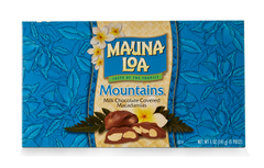 Chocolate Covered Macadamias - Mountains Milk Chocolate Covered Box