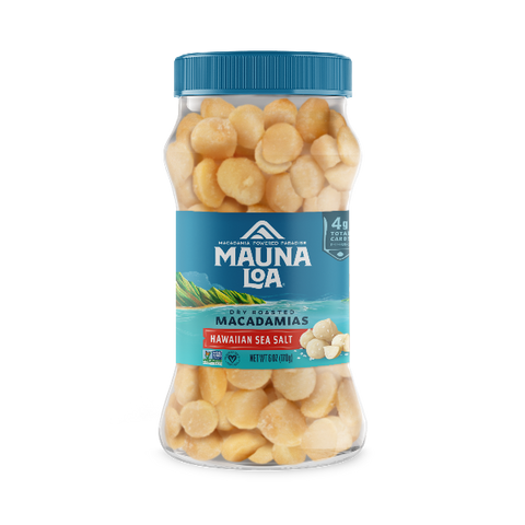 Flavored Macadamias - Hawaiian Sea Salt Jar