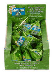 Flavored Macadamias - Maui Onion & Garlic Packs