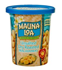 Flavored Macadamias - Unsalted Cup