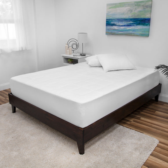 Euro Majestic Washable Memory Foam California King Mattress Pad