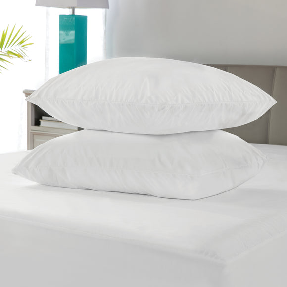 Microshield Allergen Blocking Pillow Protector Pair