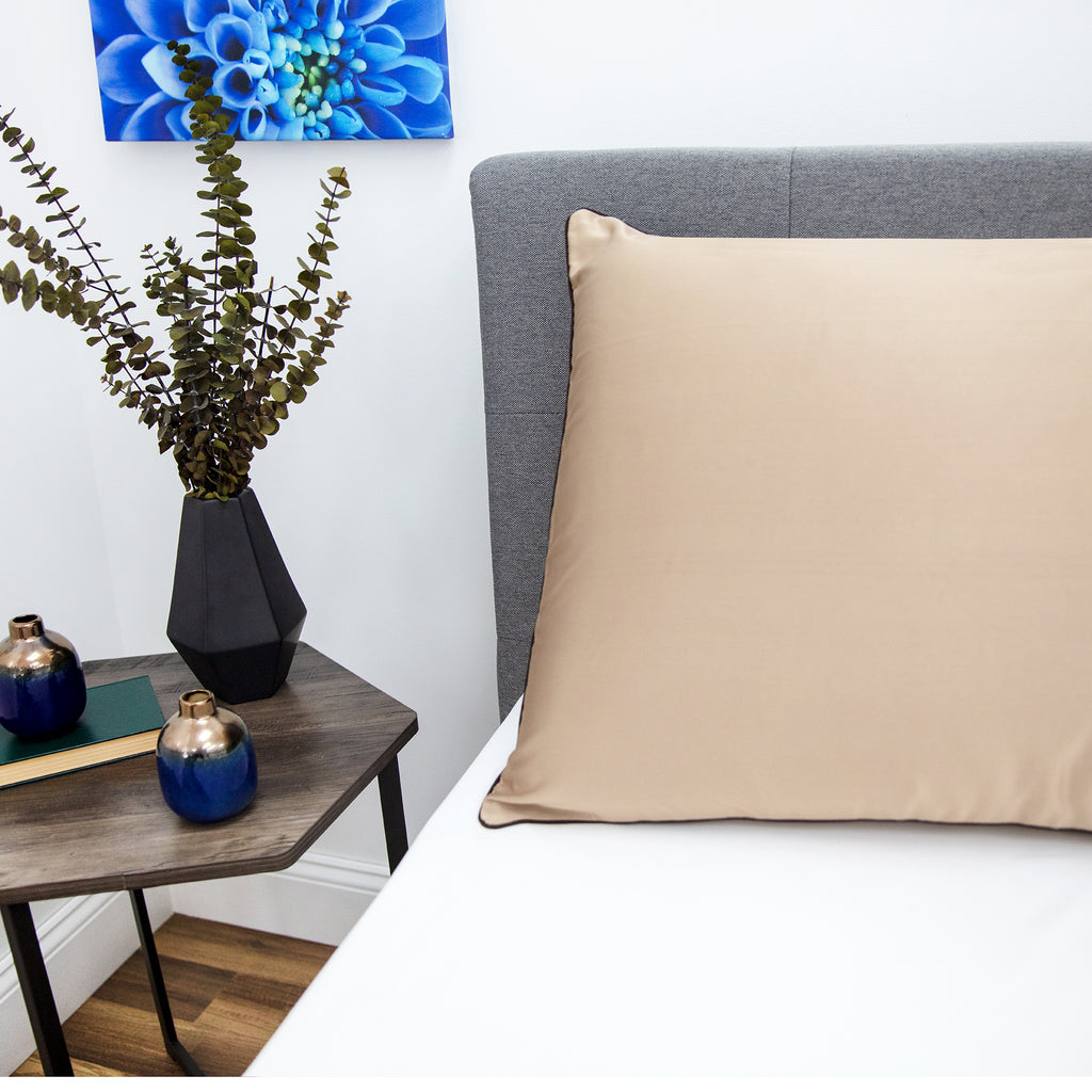 Nightspa Pillow Case with Skin Revitalizing Cupron Copper-Infused Fabric