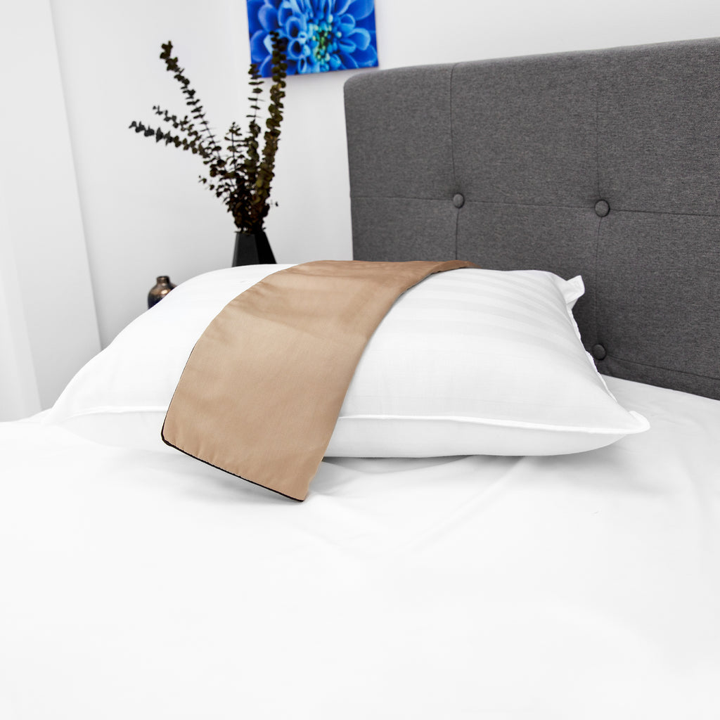 NightSpa Cupron Pillowcase and Pillow Bundle
