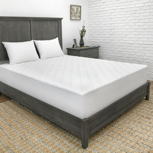 CoolMAX 300 Thread Count Mattress Pad with Stain-X