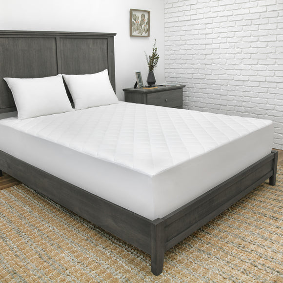 CoolMAX 300 Thread Count Mattress Pad with Repel-A-Tex