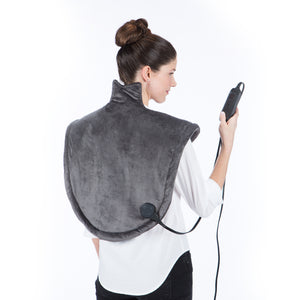 Heated Neck and Shoulder Wrap With Digital Controller