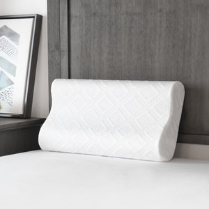 Solutions Collection Contour Memory Foam Pillow for Side and Back Sleepers