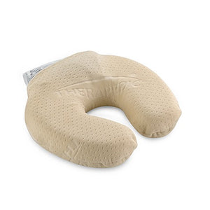 Memory Touch Round Neck Pillow with Removable Hot/Cold Gel Pack