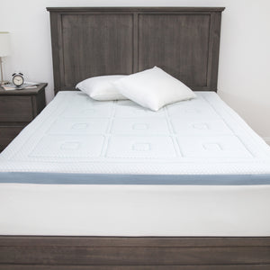 "SensorCOOL 3"" Gel-Infused Memory Foam Mattress Topper"