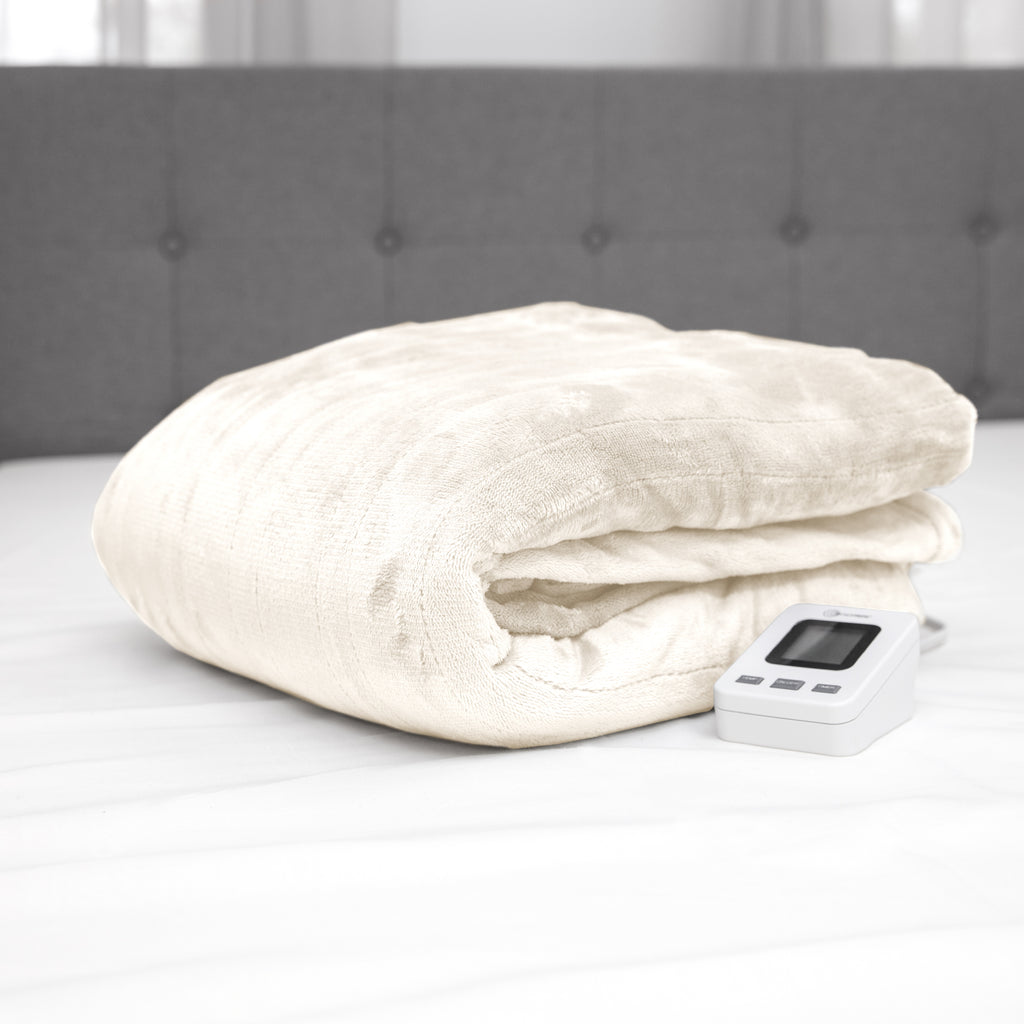 Heated Electric Blanket with Sensorsafe Technology