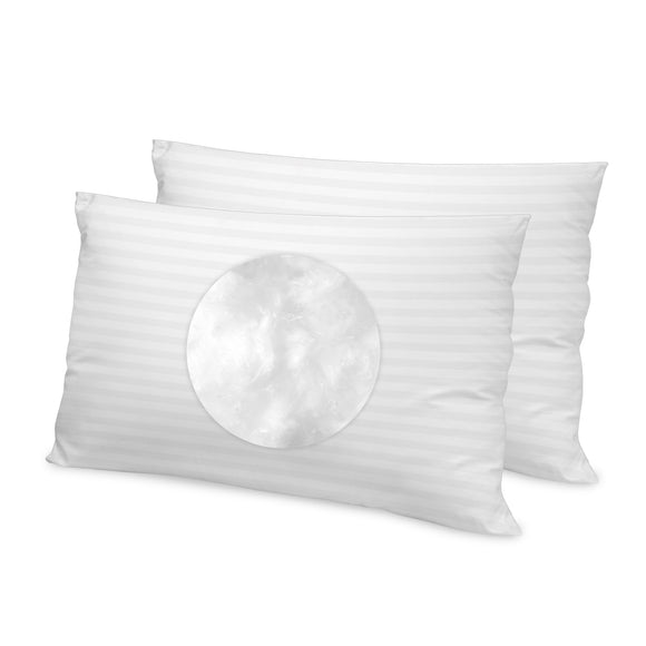 500 Thread Count Tencel Fiber Bed Pillow - 2 Pack