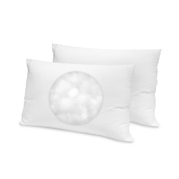 Cotton SofLOFT Fiber Pillow - 2 Pack