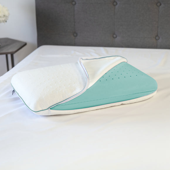 Fresh - Eucalyptus Infused Memory Foam Oversized Pillow
