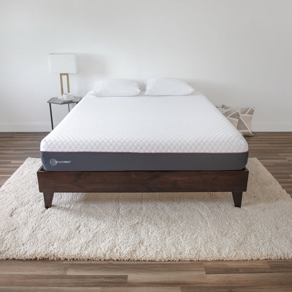 10-Inch Plush 3-Layer Gel-Infused Memory Foam Mattress-in-a-Box