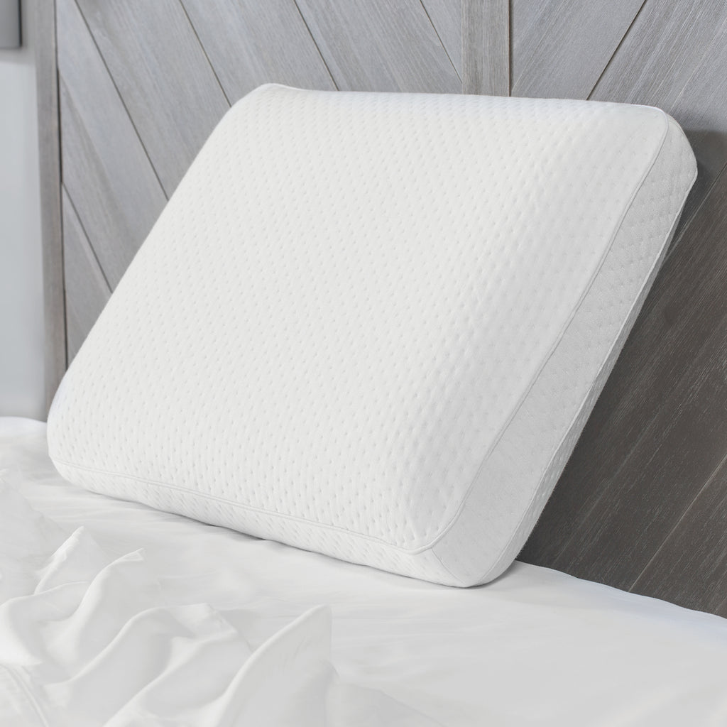 Luxury Extraordinaire Gusseted Oversized Memory Foam Pillow