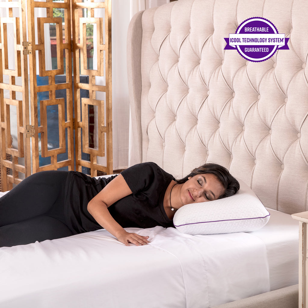SensorPEDIC Temperature Regulating Coolest Comfort Memory Foam Bed Pillow