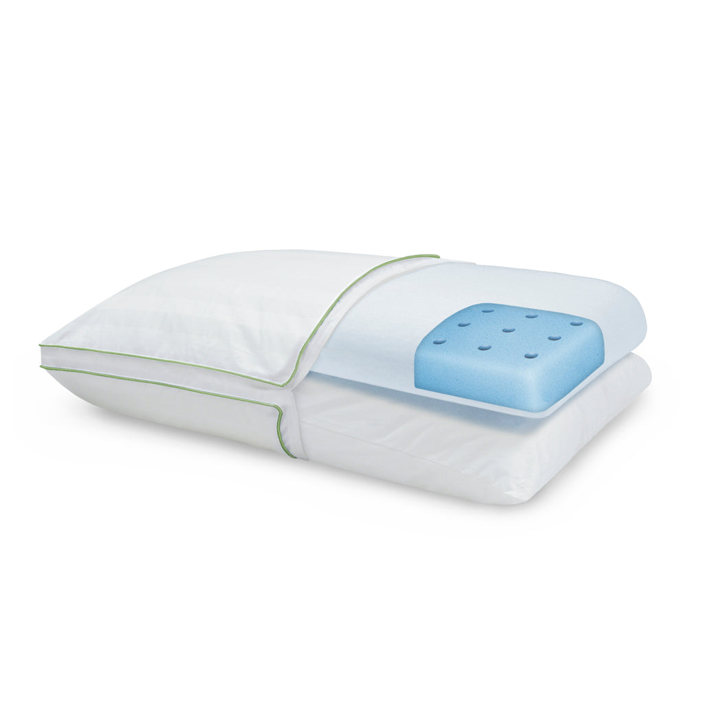 Dual Comfort Supreme Gusseted Standard Bed Pillow