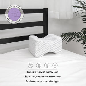 Conforming Memory Foam Knee Support Pillow