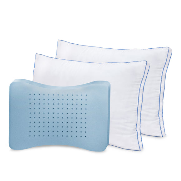 MemoryLOFT Deluxe Gusseted Pillows