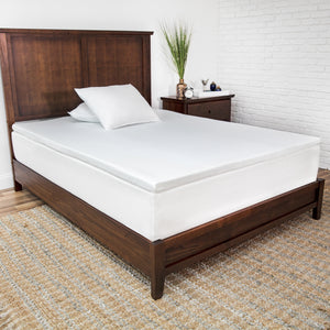 "2"" Prime Gel-Infused Memory Foam Mattress Topper"