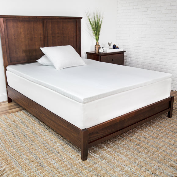 SensorPEDIC 2-Inch Prime Gel-Infused Memory Foam Mattress Topper