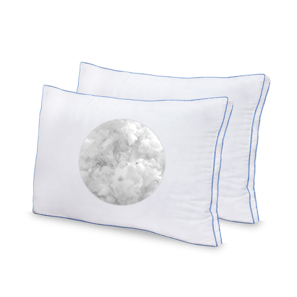 Blended Memory Foam Pillow 2 Pack