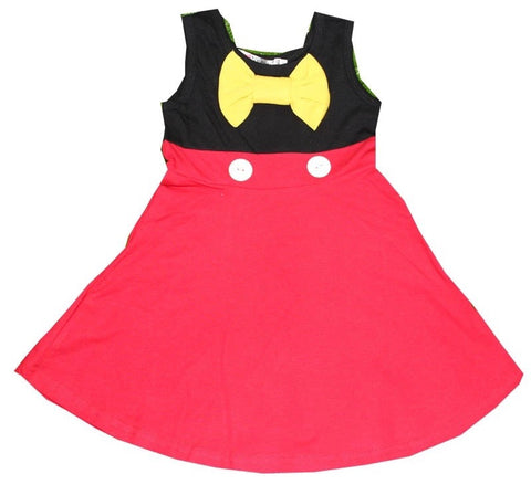 Mickey inspired dress ***4 week delivery time***
